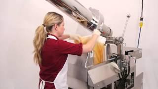 PR 100 Commercial Hydraulic Juice Press Demo