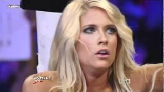 Kelly Kelly vs Maryse (Kharma Attacks)