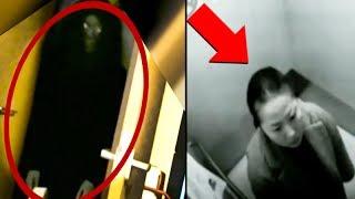 5 PARANORMAL CREEPY Moments Caught On Camera!