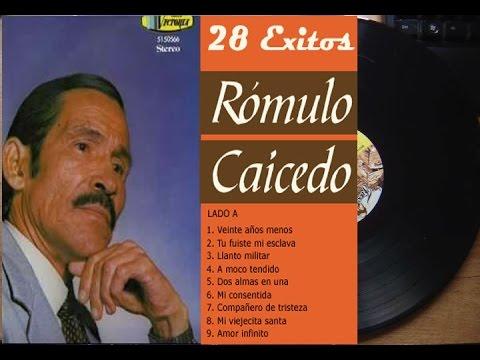 Rómulo Caicedo 28 Exitos Cantineros ►HQ◄