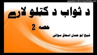 sheikh abu hassaan swati pashto bayan -  د ثواب د ګټلو لارې - حصه 2