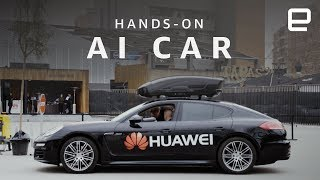 Huawei AI Car Hands-On at MWC 2018