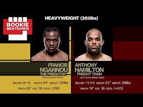 Bookie Beatdown: UFC Fight Night Albany: Francis Ngannou vs. Anthony Hamilton