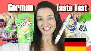 GERMAN Taste Test Crustics Haribo Berries and more