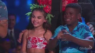Ariana Greenblatt & Artyon Celestine - DWTS Juniors Episode 3 (Dancing with the Stars Juniors)