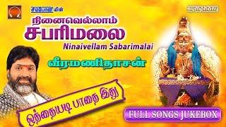நினைவெல்லாம் சபரிமலை | Veeramanidasan | Ayyappan Songs