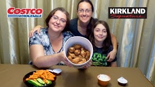 Costco Chicken Wings Bucket | Gay Family Mukbang (먹방) - Eating Show