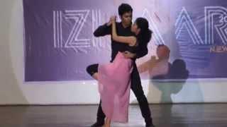Couple dance (3rd year) @Izhaar 2K15 Thapar University