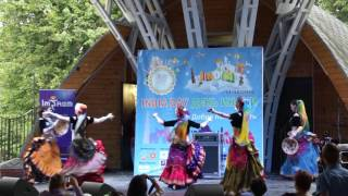 Tribal Mafia students @ India Day in Moscow, Aug. 14, 2016