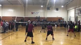 Hattiesburg-Bham vs Nashville (Final 1 of 3) Desi Volleyball Chattanooga, TN March 2017