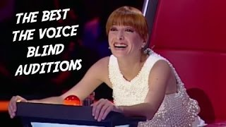 The BEST The Voice Blind Auditions GLOBAL - Surprising and Emotional