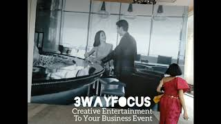 Smart & Creative Entertainment In Business Event At 5 Star Hotel