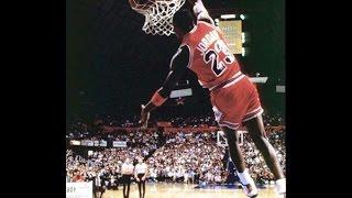 Michael Jordan Kiss the Rim Dunk 1988