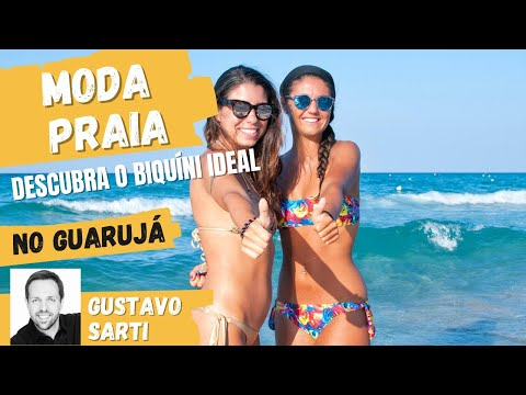 Programa do Gugu Super Praia da Moda no Guarujá Parte 2