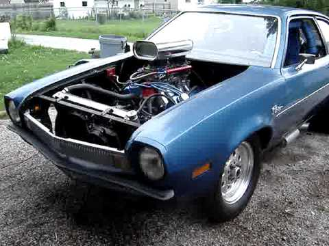 351 Cleveland V8 Powered Ford Pinto part II up and running