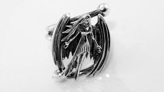 Handmade angel ring silver