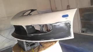 Custom Fiberglass bumper