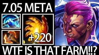 100% Cleave + Midas New META Farm Anti Mage Gameplay by Pro - Burning Dota