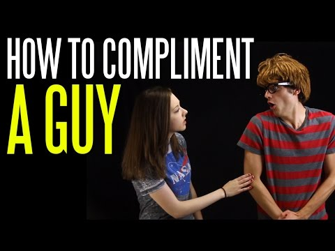 How to Compliment a Guy without Sounding Flirty