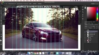 How to Design a Website from SCRATCH using Adobe Photoshop CC (2015) Part 1