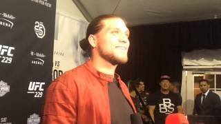 UFC 229 Backstage: Brian Ortega