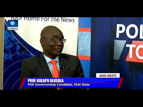 Ekiti Guber Race We Are Confident Of Winning Come July 14 Prof Kolapo Olusola Politics Today