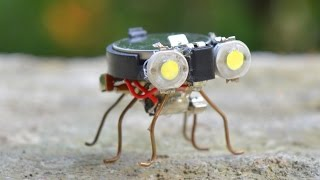 How to make a Robot - Tiny Bug Robot at Home