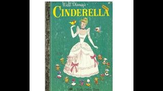 Book Reading Little Golden Book Cinderella