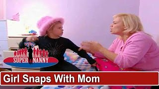 Daughter Snaps While Playing With Mom | Supernanny