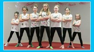 FLAIR 3.0 DANCE PRACTICE BEGINS TODAY | Flippin' Katie