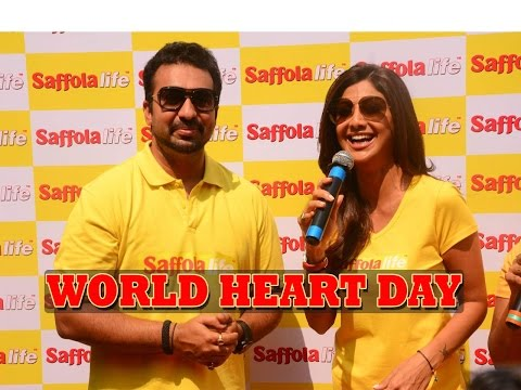 Xxx Mp4 Shilpa Shetty Raj Kundra Celebrate World Heart Day 3gp Sex