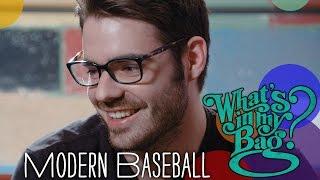 Modern Baseball - What's In My Bag?