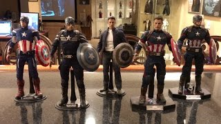 Episode 100 - TOP 10 HOT TOYS Figures in my Collection!