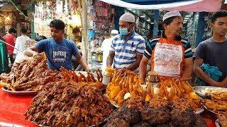 Incredible Muslim Iftar Market | Amazing Huge Types Foods Available Ramadan Street Foods Market