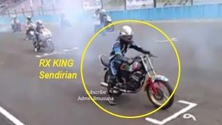 RX King Dikeroyok Kawasaki Ninja | Race Sirkuit Sentul