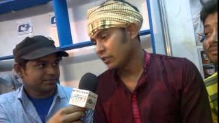Kazi Shuvo & RJ Saimur at Gan Mela