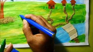 Kids Crafts Fun Summer Project -  DIY
