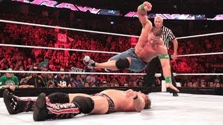 John Cena & Kane vs. Big  Show & Chris Jericho: Raw, July