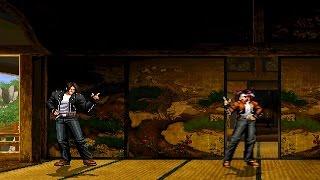 [KOF Mugen] 쿄 쿠사나기 vs 아테나 하이데른 : Kyo Kusanagi vs Athena Heidern
