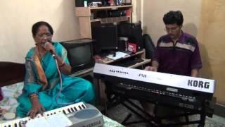 Mangal Deep Jele Lata Mangeshkar Hit Song Singing By Namita Saha Keyboard Accompaniment Pramit Das P