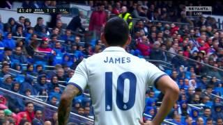 James Rodriguez vs Valencia Home HD (29/04/2017) by JamesR10™