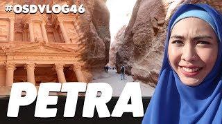 Petra, Jordan!  Gunung Batu dipahat dengan tangan manusia! | Oki Setiana Dewi | #OSDVLOG46