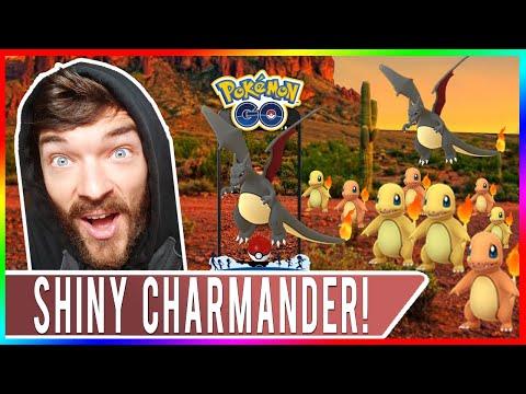 Xxx Mp4 COMMUNITY DAY SHINY HUNTING Pokemon GO Shiny Charmander Event Shiny Charizard Evolution 3gp Sex