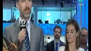 Letizia Ortiz arroja una mirada asesina al Príncipe Felipe