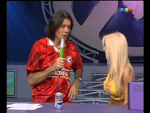 Desfila y baila Luciana Salazar Videomatch