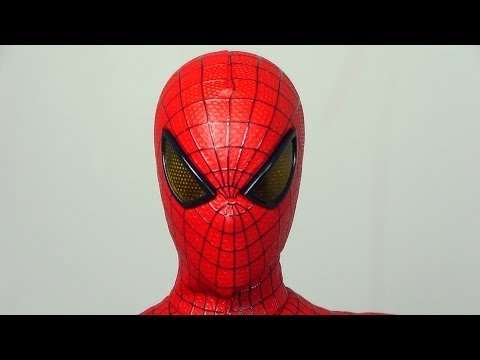 Hot Toys The Amazing Spider Man Movie Masterpiece MMS179 Broken Figure Review