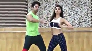 Parineeti Chopra & Varun Dhawan's Dance Rehearsal For Jaaneman Aah Song - Dishoom