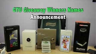 GTU 3 Lakh Subscribers Giveaway Winners Announcment | Gadgets To Use