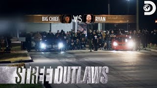 Race Replay: Big Chief and Ryan's Rematch for #1 | Street Outlaws