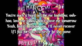 Maroon 5 - Love Somebody (lyrics)